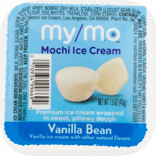 My/Mo Vanilla Bean Mochi Ice Cream Perspective: front