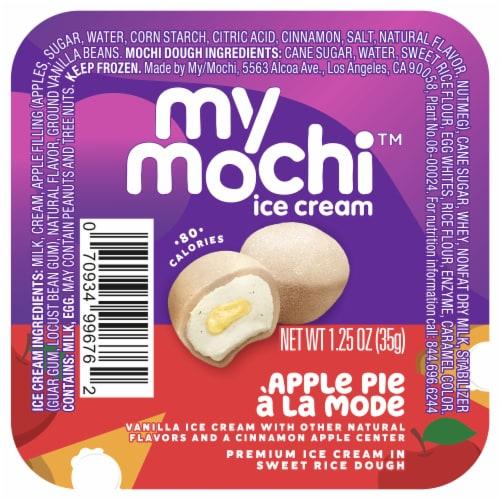 My/Mo Apple Pie a la Mode Mochi Ice Cream Perspective: front