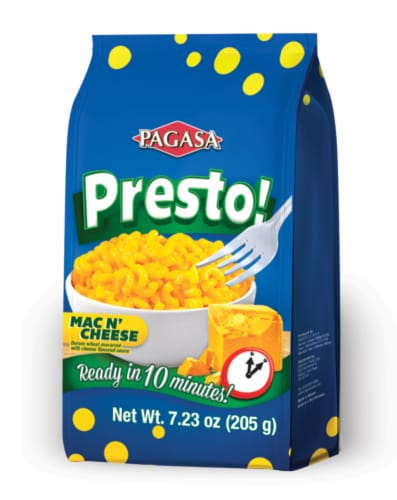 Pagasa Mac and Cheese Perspective: front