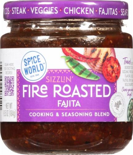 Spice World™ Sizzlin' Fire Roasted Fajita Seasoning Blend Perspective: front