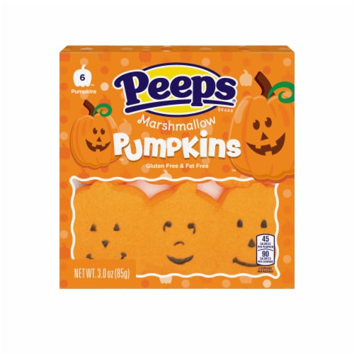 Peeps Marshmallow Pumpkins Perspective: front