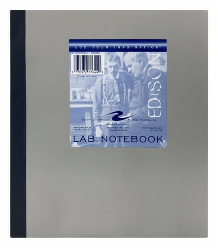 Roaring Spring Paper Products Use Your Imagination Lab Notebook Perspective: front