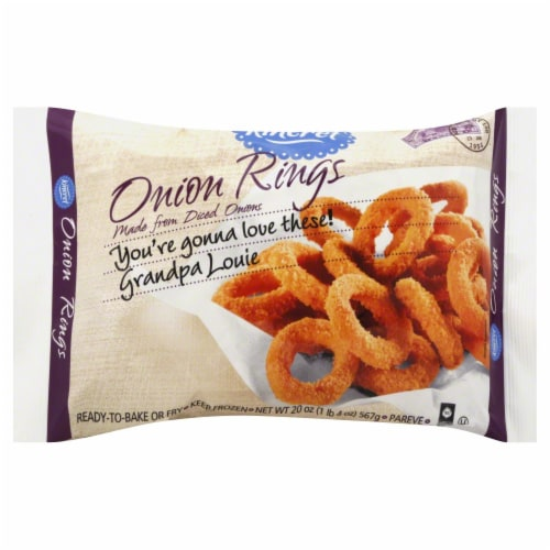 Kineret Onion Rings Perspective: front