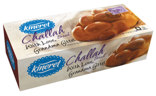 Kineret Ready-To-Bake Challah Dough Perspective: front