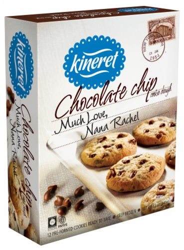 Kineret Chocolate Chip Cookie Dough Perspective: front