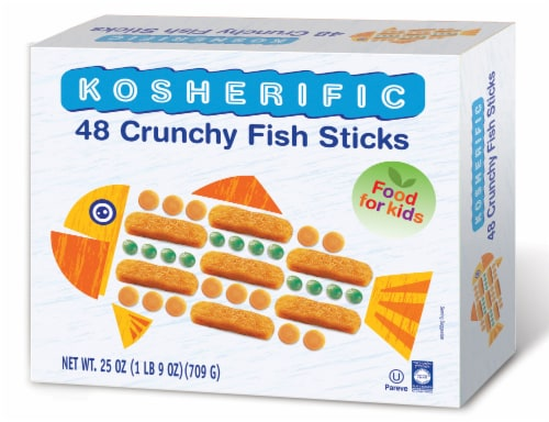 Kosherific Crunchy Fish Sticks Perspective: front