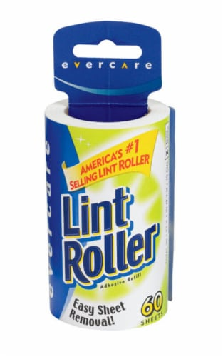 Evercare Lint Roller Refill Roll Perspective: front