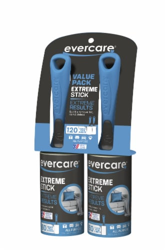 Evercare Professional Lint Roller - Black and Cream Perspective: front