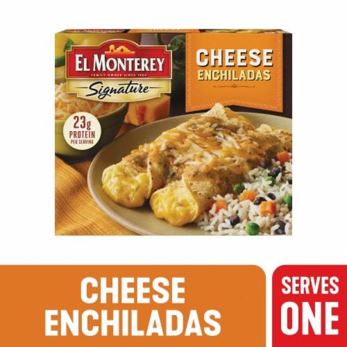 El Monterey Signature Entree Cheese Enchiladas Perspective: front