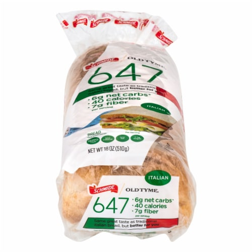 Old Tyme 647 Italian Bread Perspective: front