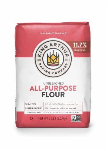 King Arthur Flour Unbleached All-Purpose Flour Perspective: front