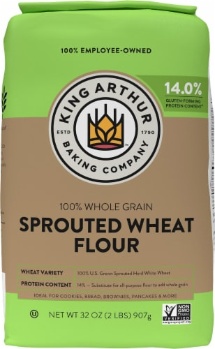 King Arthur Flour Sprouted Wheat Flour Perspective: front