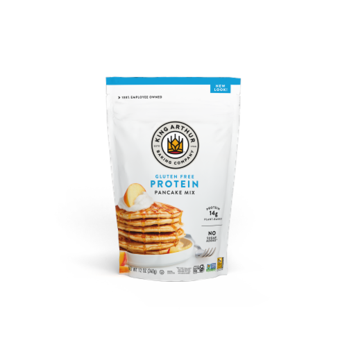 King Arther Baking Company Gluten Free Protein Pancake Mix Perspective: front
