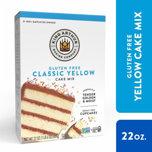 King Arthur Flour Gluten Free Yellow Cake Mix Perspective: front
