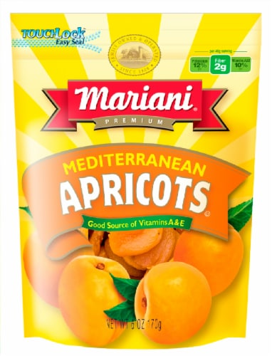 Mariani Premium Mediterranean Dried Apricots Perspective: front