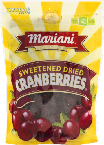 Mariani Sweetened Dried Cranberries Perspective: front