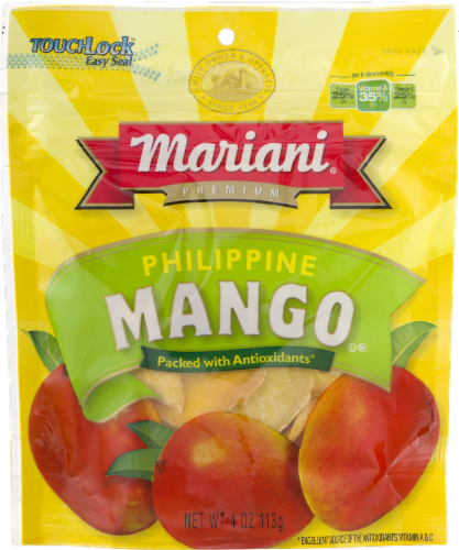 Mariani Premium Philippine Dried Mango Perspective: front