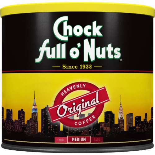 Chock Full o' Nuts Original Medium Roast Ground Coffee Perspective: front
