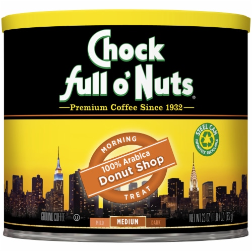 Chock Full o'Nuts® Donut Shop Medium Roast Ground Coffee Perspective: front