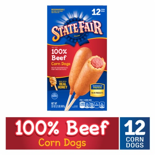 State Fair® 100% Beef Corn Dogs Perspective: front