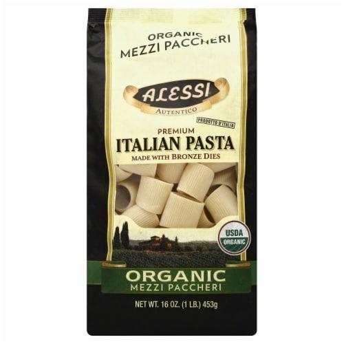 Alessi Organic Italian Mezzi Paccheri Perspective: front
