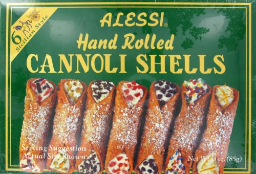 Alessi Hand Rolled Cannoli Shells Perspective: front