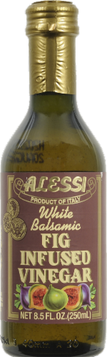 Alessi Fig Infused White Balsamic Vinegar Perspective: front