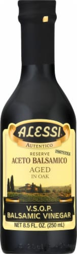 Alessi 20 Year Old Aged in Wood Balsamic Vinegar Perspective: front