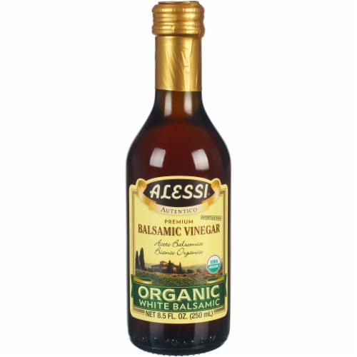 Alessi Organic White Balsamic Vinegar Perspective: front