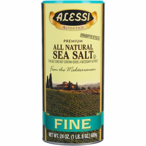 Alessi All Natural Fine Sea Salt Perspective: front