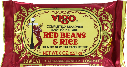 Vigo Red Beans & Rice Perspective: front