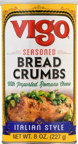 Vigo Italian Style Seasoned Bread Crumbs Perspective: front