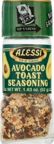 Alessi Seasoning - Avocado Toast Perspective: front