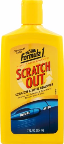 Formula 1 Scratch Out Liquid Perspective: front