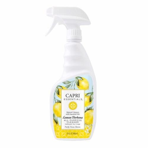 Capri Essentials Lemon Verbena All Purpose Cleaner Perspective: front