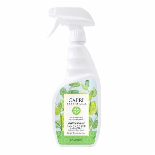 Capri Essentials Sweet Basil All Purpose Cleaner Perspective: front