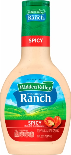 Hidden Valley Spicy Ranch Dressing Perspective: front