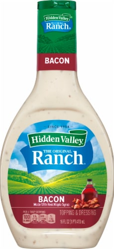 Hidden Valley Bacon Ranch Dressing Perspective: front