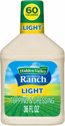 Hidden Valley Original Light Ranch Dressing Family Size Perspective: front