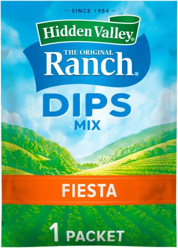 Hidden Valley Dips Fiesta Ranch Mix Perspective: front