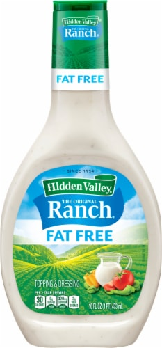 Hidden Valley Original Fat Free Ranch Dressing Perspective: front