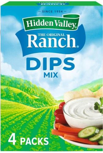 Hidden Valley Original Ranch Dips Mix Perspective: front