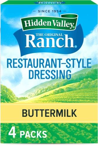 Hidden Valley Buttermilk Recipe Salad Dressing & Seasoning Mix Envelopes Perspective: front