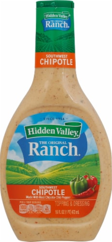 Hidden Valley Southwest Chipotle Dressing Perspective: front