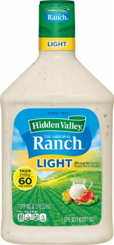 Hidden Valley Original Light Ranch Dressing Perspective: front