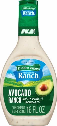Hidden Valley Avocado Ranch Dressing Perspective: front