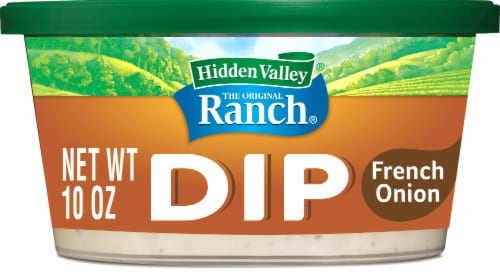 Hidden Valley Thick & Creamy French Onion Dip Perspective: front