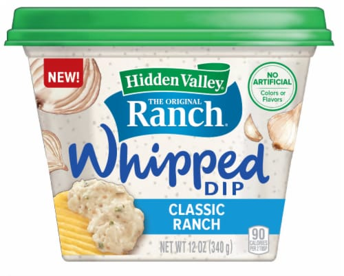 Hidden Valley Classic Ranch Whipped Dip Perspective: front
