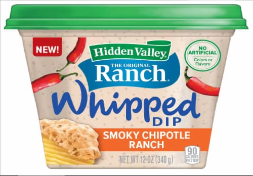 Hidden Valley Smoky Chipotle Ranch Whipped Dip Perspective: front