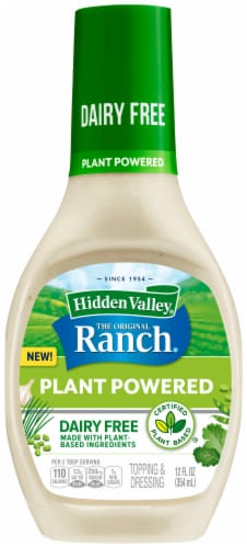 Hidden Valley® Plant Powered Dairy-Free Original Ranch Dressing Perspective: front